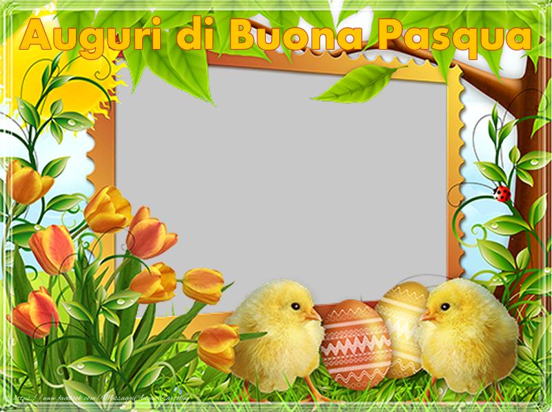 Cartoline personalizzate di Pasqua - Auguri di Buona Pasqua