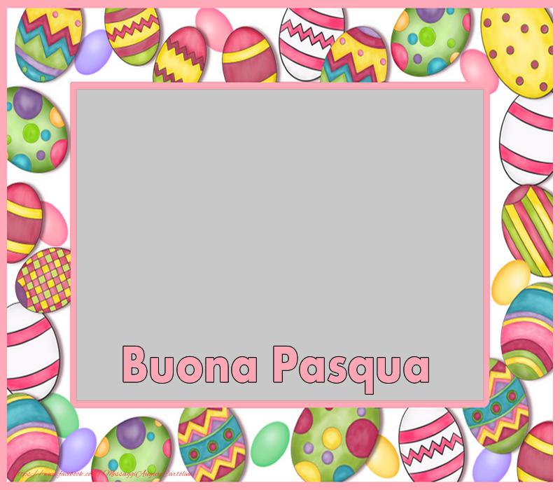 Cartoline personalizzate di Pasqua - Buona Pasqua