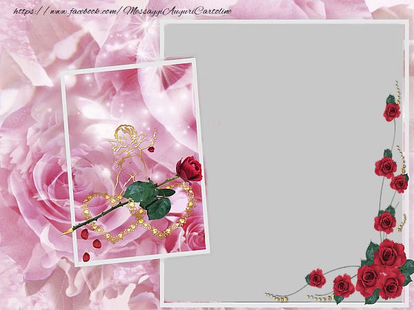 Cartoline personalizzate di San Valentino - Cartolina di San Valentino