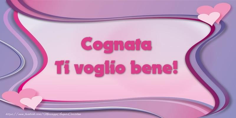 Cartoline d'amore per Cognata - Cognata Ti voglio bene!