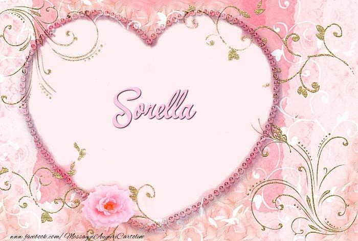 Cartoline d'amore per Sorella - Sorella