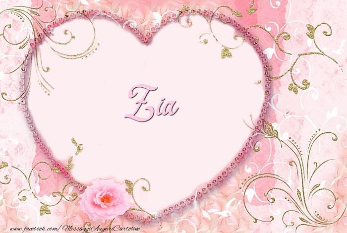 Cartoline d'amore per Zia - Zia