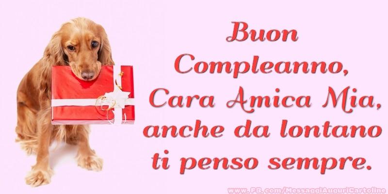 Populaire Cartoline di compleanno per Amica - Buon Compleanno, cara amica  UG14