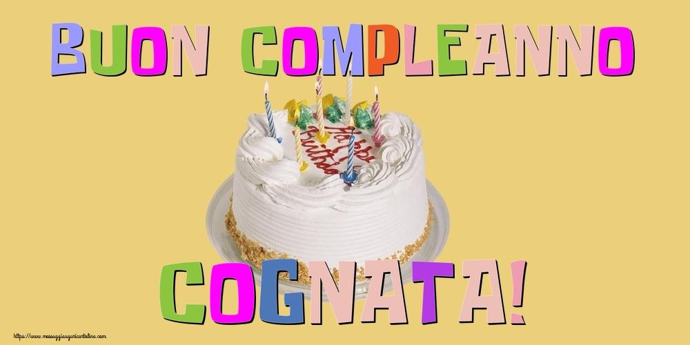 Cartoline di compleanno per Cognata - Buon Compleanno cognata!