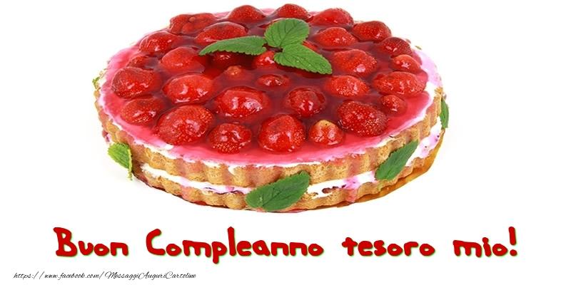 Cartoline di compleanno per Moglie - Buon Compleanno tesoro mio!