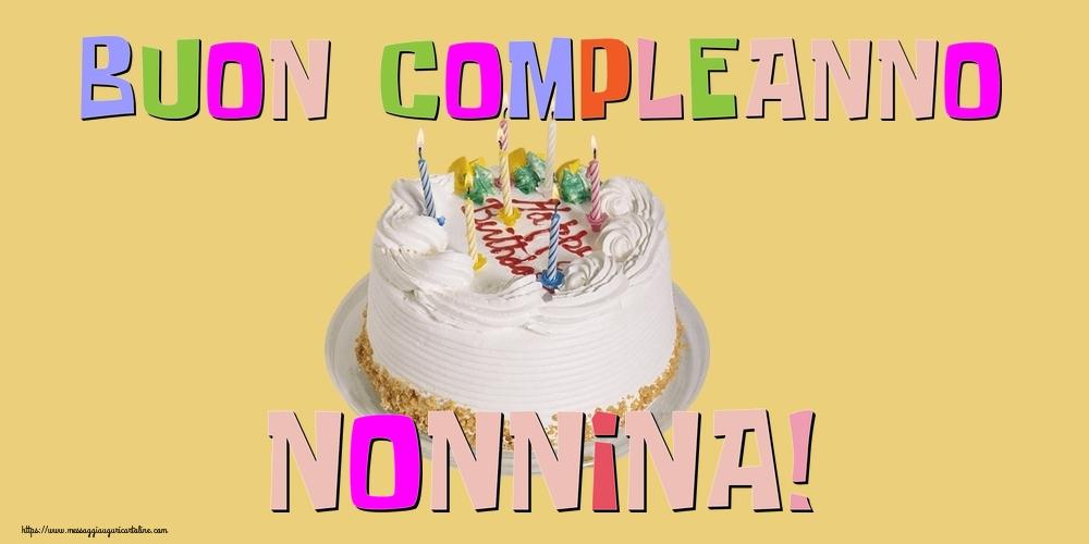 Cartoline di compleanno per Nonna - Buon Compleanno nonnina!