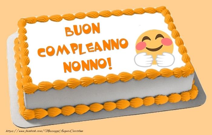 Très Cartoline di compleanno per Nonno - Tanti auguri di Buon  WV92