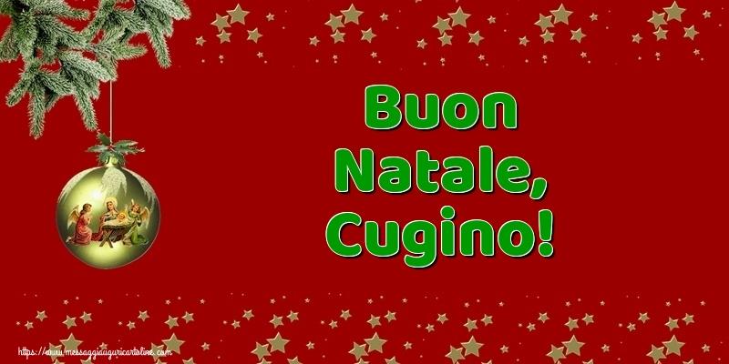 Buon Natale Cugini.Cartoline Di Natale Per Cugino Messaggiauguricartoline Com