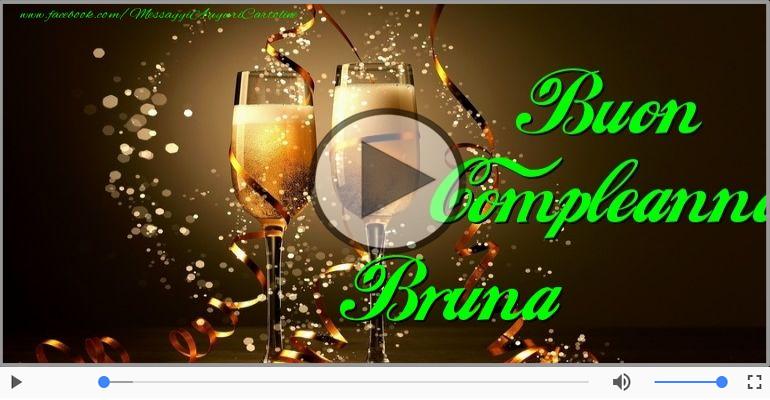 Happy Birthday Bruna Buon Compleanno Bruna Cartoline