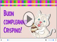 Tanti Auguri di Buon Compleanno Crispino!