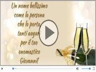 Buon onomastico, Giovanni!