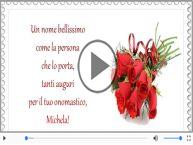 Buon onomastico, Michela!